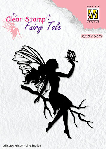 FTCS009 Clear stamps silhouette Fairy Tale-8