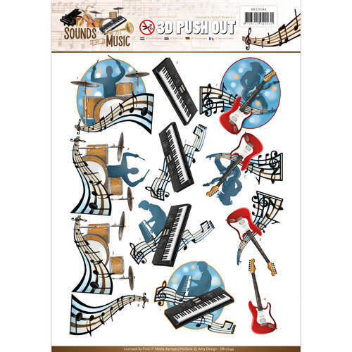 SB10244 Push Out - Amy Design - Sounds of Music - Pop