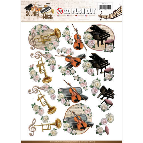 SB10243 Push Out - Amy Design - Sounds of Music - Classic