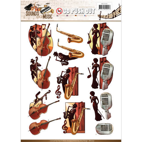 SB10242 Push Out - Amy Design - Sounds of Music - Jazz