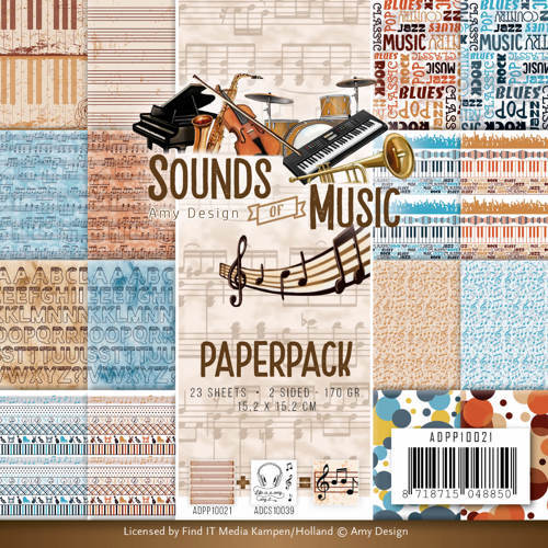ADPP10021 Paperpack - Amy Design - Sounds of Music