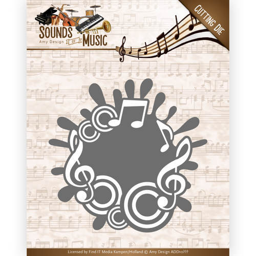 ADD10135 Dies - Amy Design - Sounds of Music - Music Label