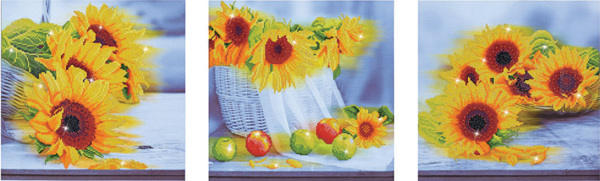 DD14.001 Diamond Dotz® - 142 x 42cm - Sunflower Days