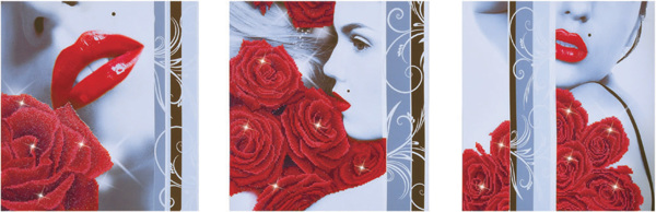 DD14.003 Diamond Dotz® - 142 x 47cm - Rose Romance