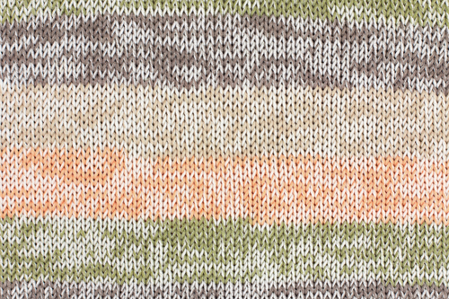 3612-03 Cotton Soft color 10x100 gram grijs-oranje-zand color