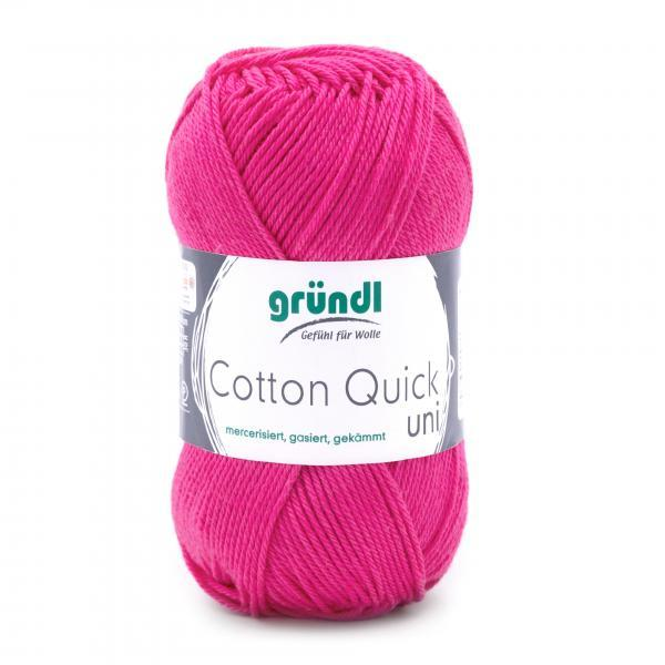 865-128 Cotton Quick Uni 10x50 gram pink
