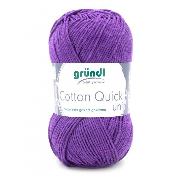 865-130 Cotton Quick Uni 10x50 gram violet