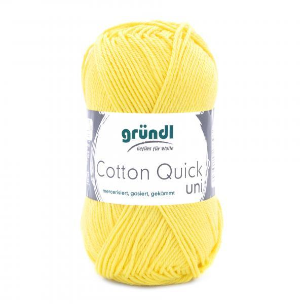 865-131 Cotton Quick Uni 10x50 gram geel