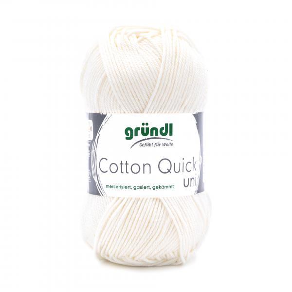 865-132 Cotton Quick Uni 10x50 gram wolwit