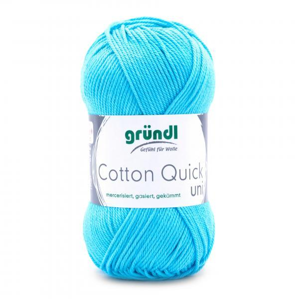 865-136 Cotton Quick Uni 10x50 gram waterblauw