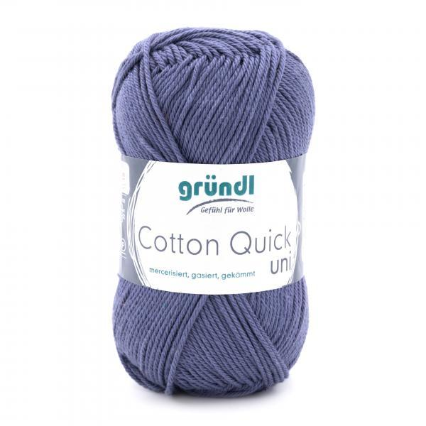 865-137 Cotton Quick Uni 10x50 gram grijsblauw