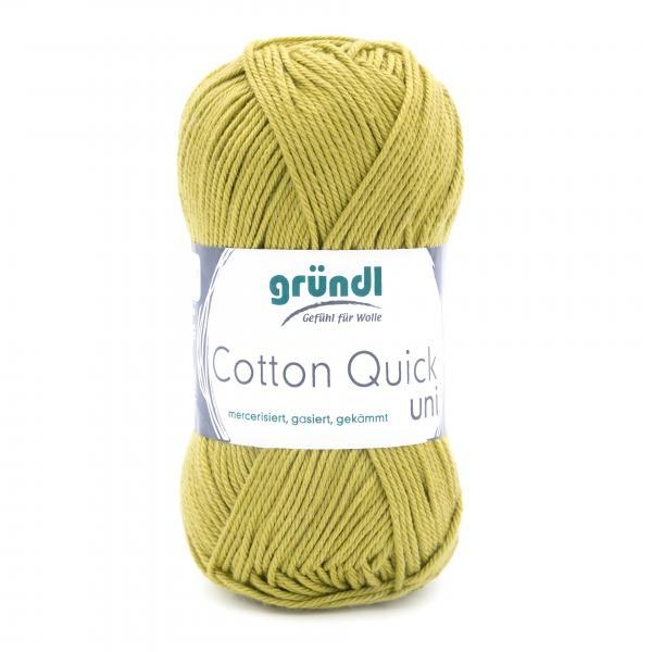 865-140 Cotton Quick Uni 10x50 gram licht olijf