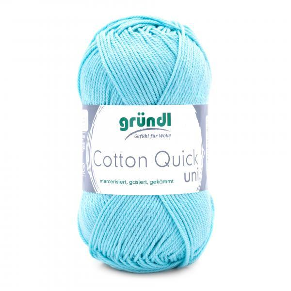 865-141 Cotton Quick Uni 10x50 gram baby blauw