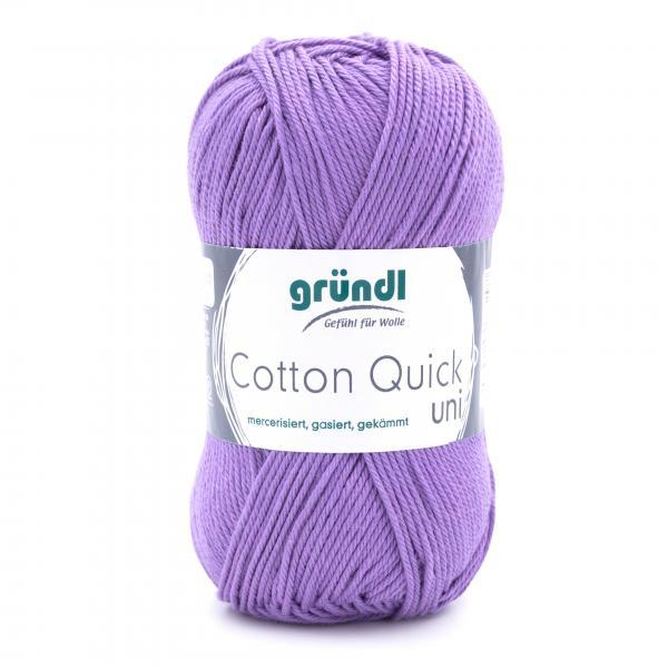 865-142 Cotton Quick Uni 10x50 gram lavendel