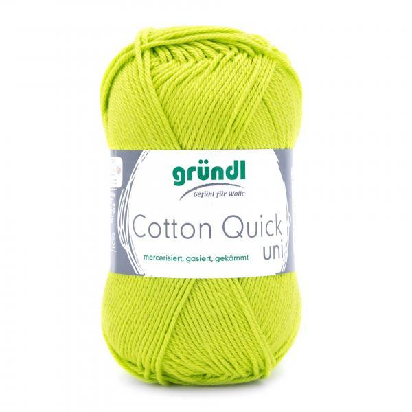 865-144 Cotton Quick Uni 10x50 gram lichtgroen