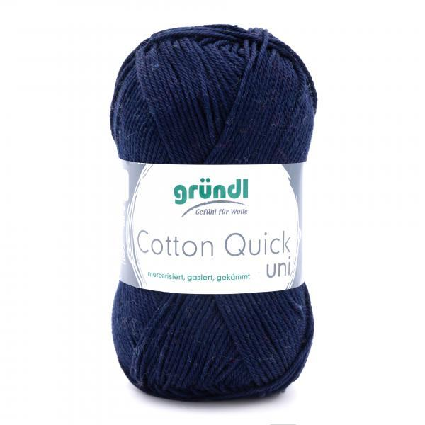 865-145 Cotton Quick Uni 10x50 gram donkerblauw