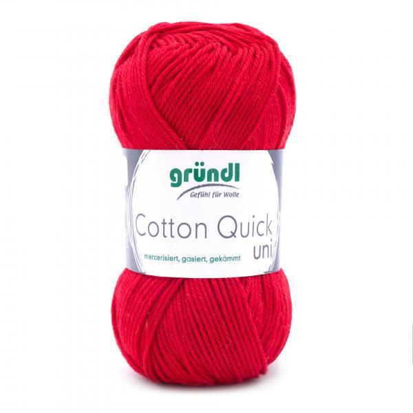 865-147 Cotton Quick Uni 10x50 gram rood