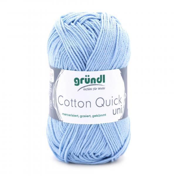 865-148 Cotton Quick Uni 10x50 gram hemelblauw