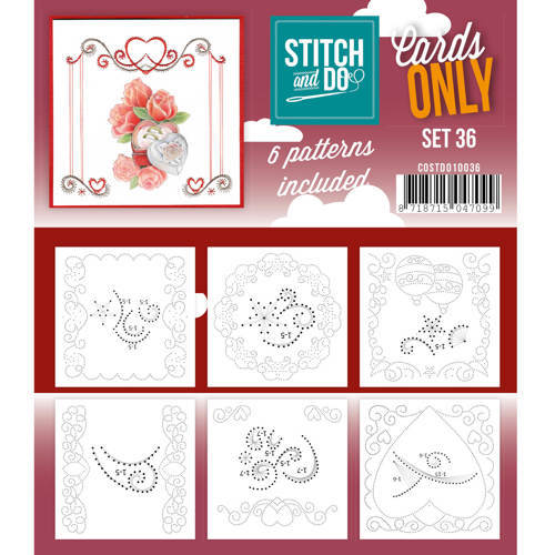 COSTDO10036 Cards only stitch 36