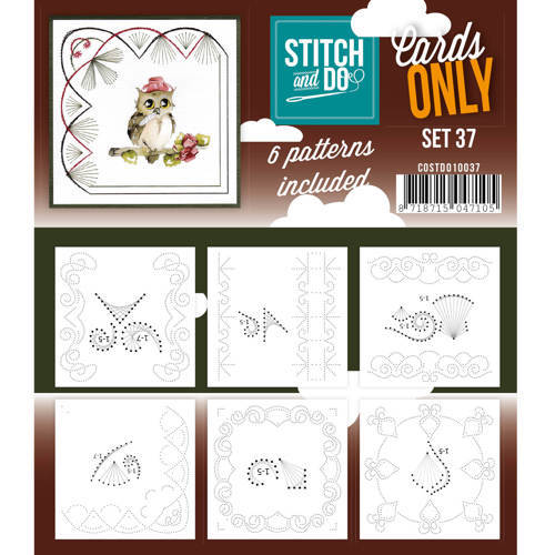 COSTDO10037 Cards only stitch 37