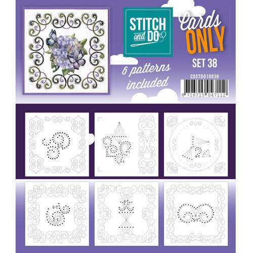 COSTDO10038 Cards only stitch 38