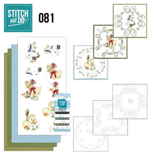 STDO081 Stitch and Do 81 - Voorjaarsdieren