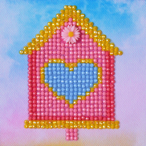 DD1.002 Diamond Dotz® - 10,2x10,2cm - Home Sweet Home