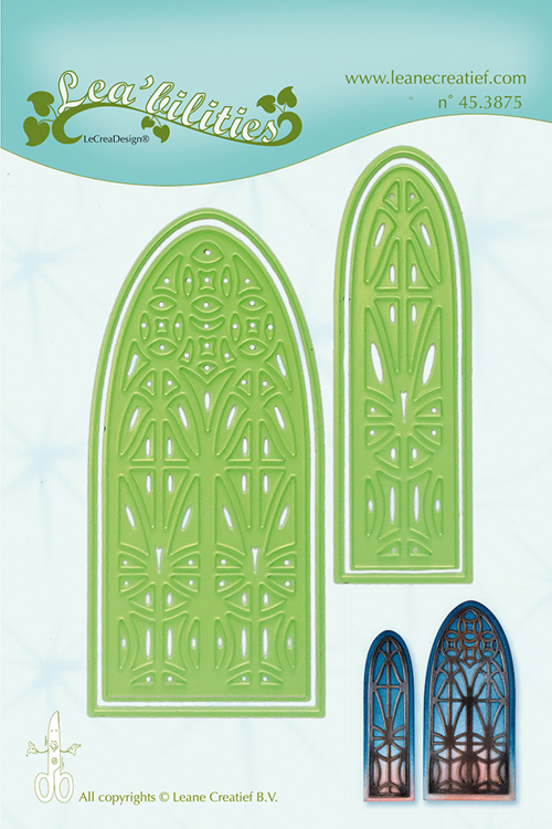 45.3875 Lea'bilitie Church window  snij en embossing mal