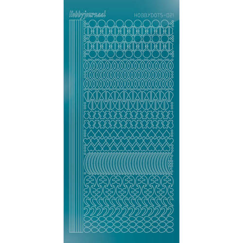 STDM21D Hobbydots sticker - Mirror - Turquoise