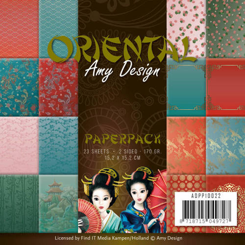 ADPP10022 Paperpack - Amy Design Oriental