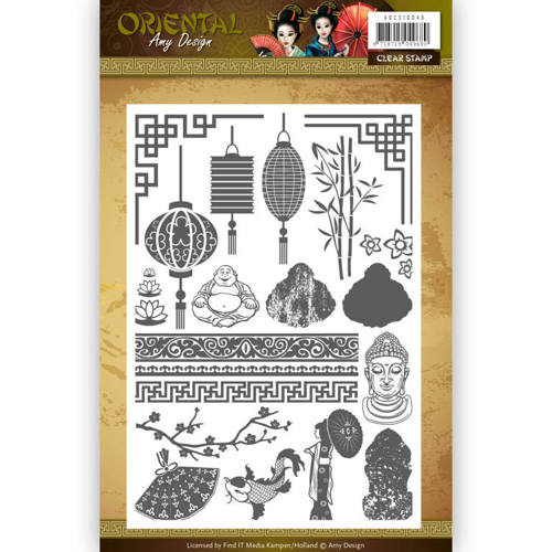 ADCS10040 Clearstamp - Amy Design Oriental