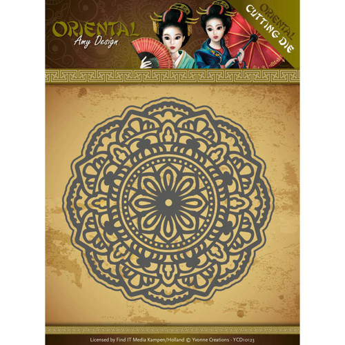 ADD10138 Dies - Amy Design Oriental - Mandala