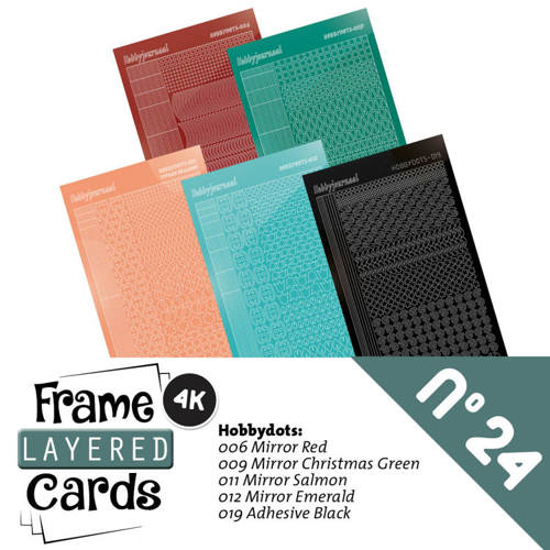 LCST024 Frame Layered Cards 24 - Stickerset