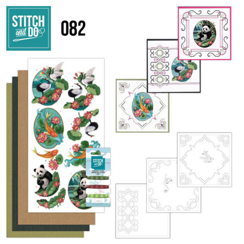 STDO082 Stitch and Do 82 - Oriental