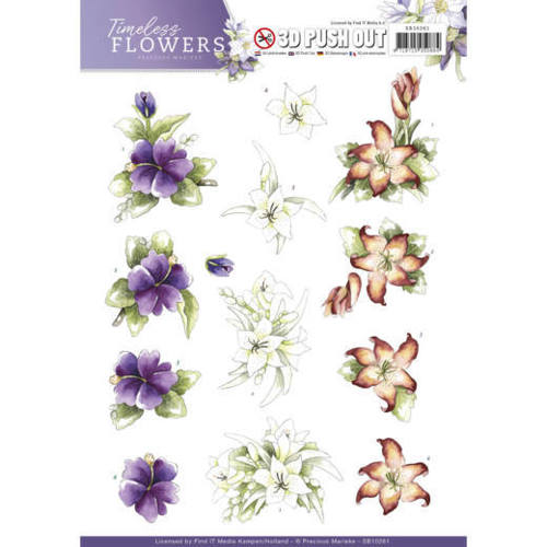 SB10261 Push Out - Precious Marieke - Timeless Flowers - Lillies
