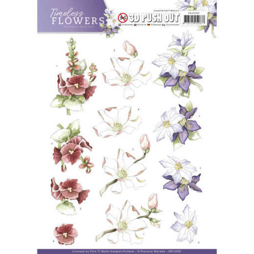 SB10260 Push Out - Precious Marieke - Timeless Flowers - Garden Flowers