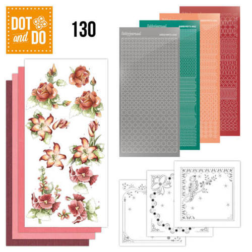 DODO130 Dot and Do 130 - Precious Marieke - Timeless Red Flowers