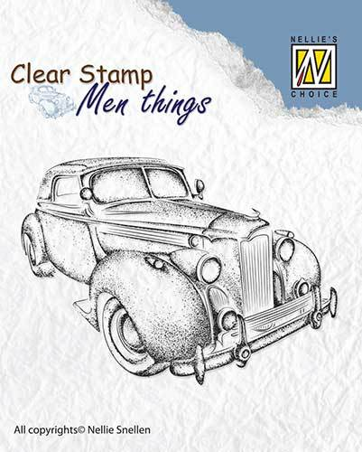 CSMT007 Clear stamps Men Things Oldtimer