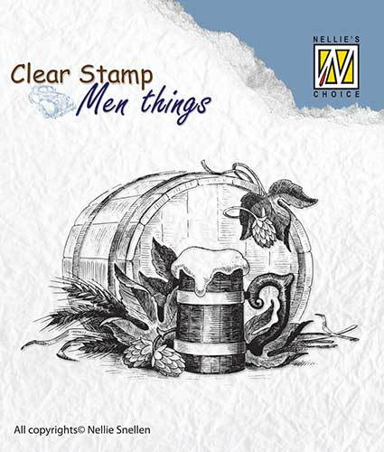 CSMT010 Clear stamps Men Things Beer