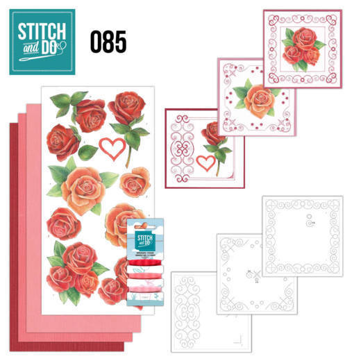 STDO085 Stitch and Do 85 - Roses
