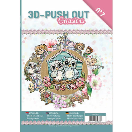 3DPO10007 3D Push Out Book - Occasions