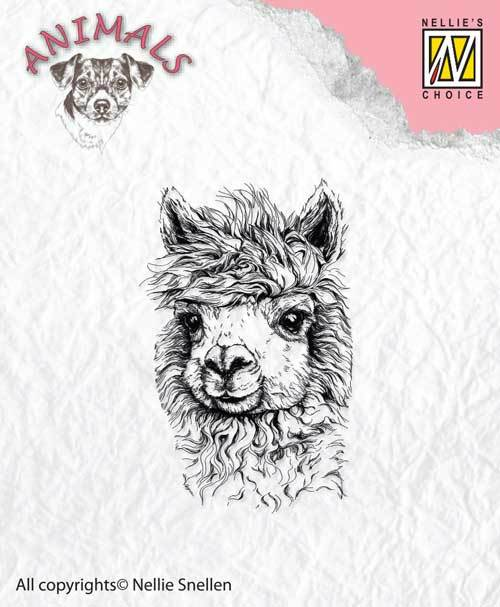 ANI014 Clear stamps Lama