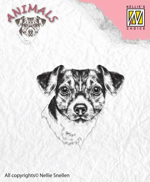 ANI016 Clear stamps dog