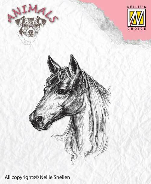 ANI018 Clear stamps horse