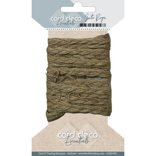 CDEJU001 Card Deco Essentials - Jute Rope