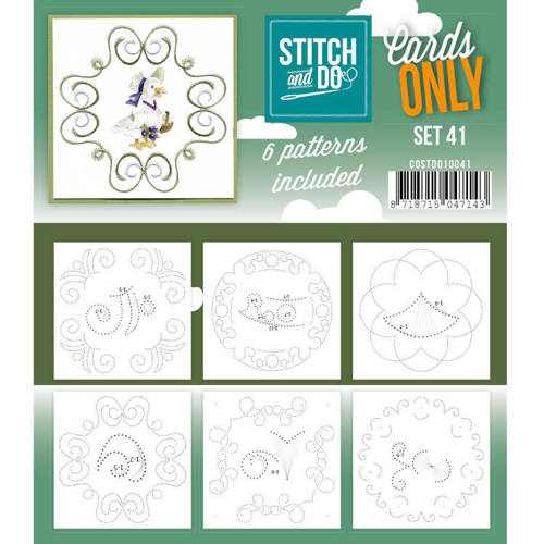 COSTDO10041 Cards only Stitch 41