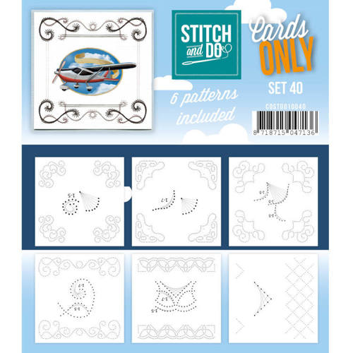 COSTDO10040 Cards only Stitch 40