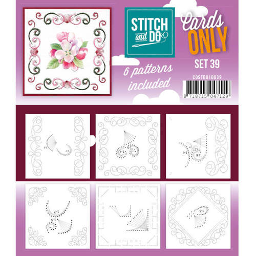 COSTDO10039 Cards only Stitch 39