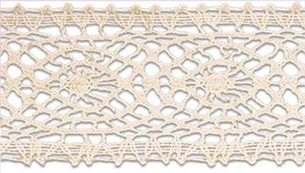 SL-204/naturel Cotton Lace 10mtr
