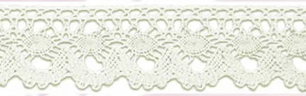 SL-229/naturel Cotton Lace 20mtr